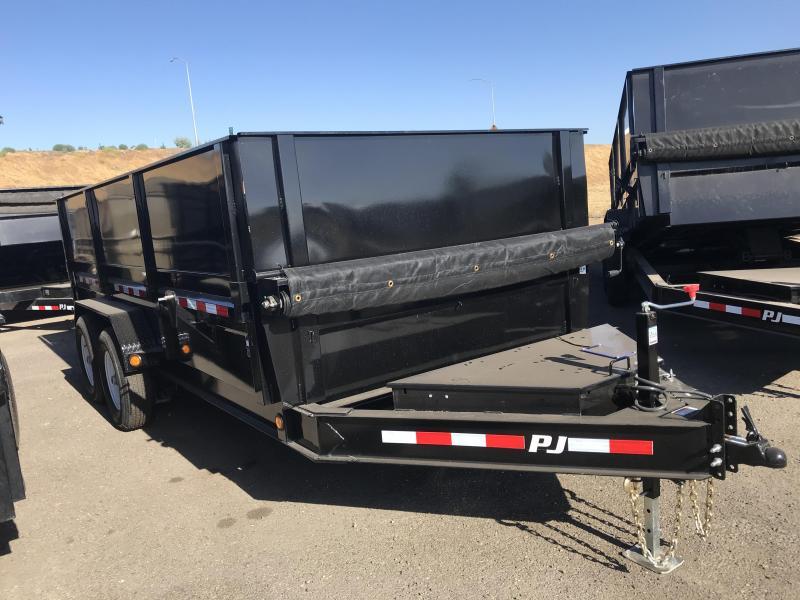 2018 PJ Trailers 14X83 Low Pro Dump