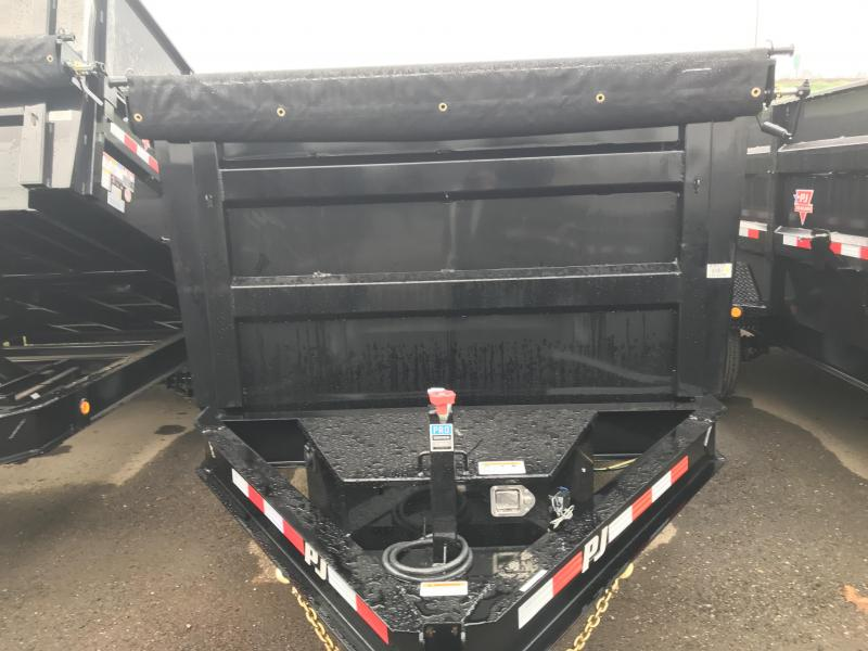 2019 PJ Trailers 14X83 Low Pro High Side Dump (DM) Dump Trailer