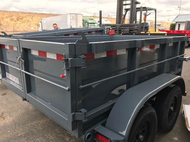 2018 Iron Panther 5X8X2 Dump Trailer