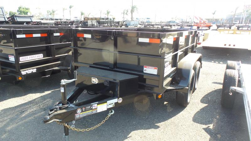 2018 Iron Panther 5X8X2 D7 LD Dump Trailer