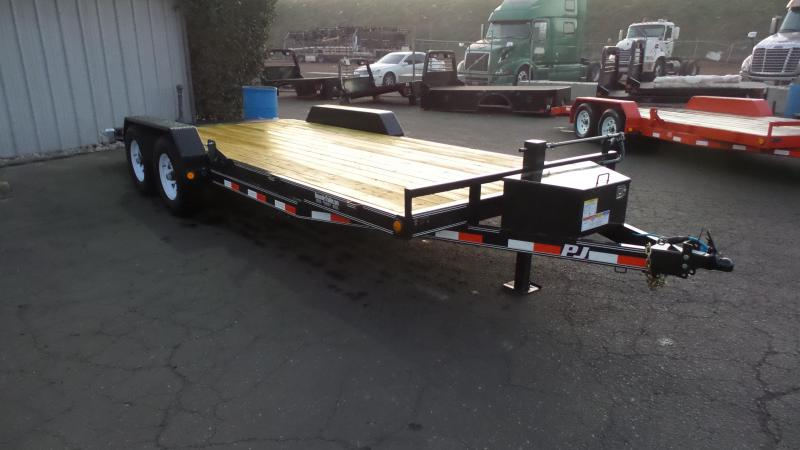2018 PJ Trailers 5 in. Channel Equipment (CE) Trailer