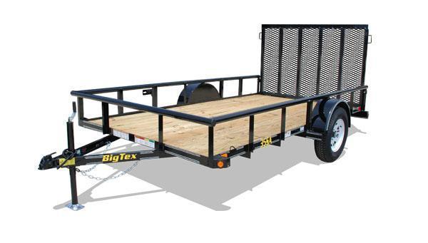 2014 Big Tex Trailers 35SA-10BK Utility Trailer
