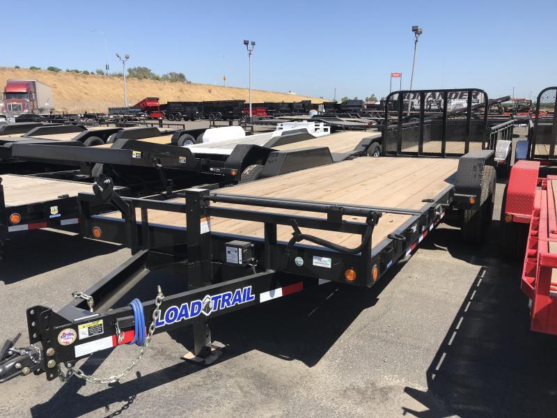 2018 Load Trail 81.5X20 Tandem Axle Tilt Deck w/Gravity