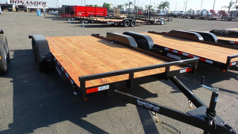 2018 Iron Panther 7X16 Econo Car Trailer