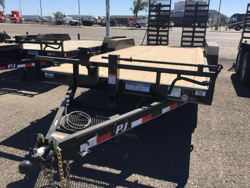 2016 PJ Trailers 20x6 Car Trailer
