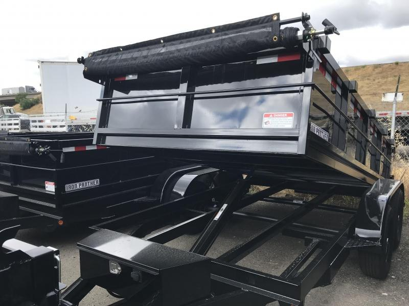 2019 Iron Panther DT261 Dump Trailer