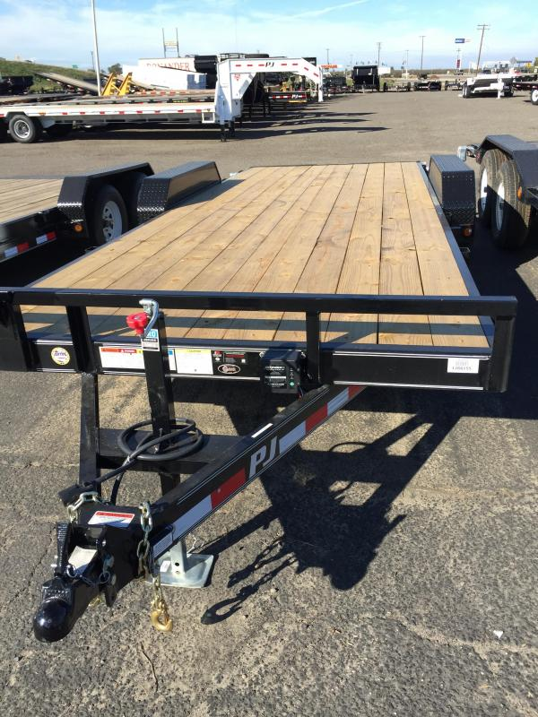 2017 PJ Trailers 16x5 Car Trailer