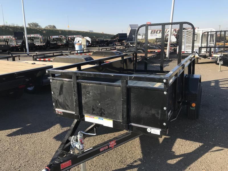 2018 PJ Trailers 10X60 Single Axle Channel Utility