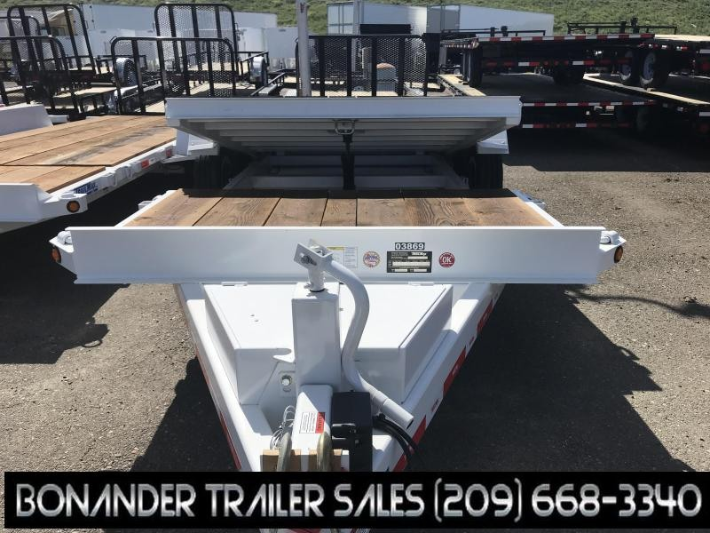 2019 TrailMax T-16-UT(4+16) Flatbed Trailer
