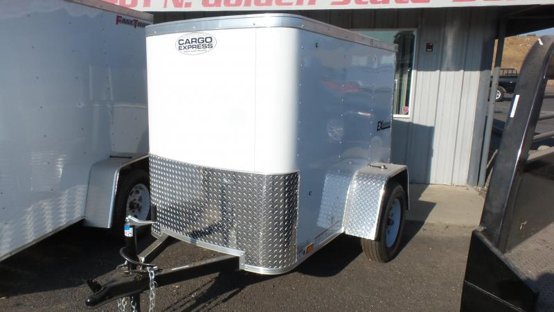 2018 Cargo Express 4X6 Enclosed Cargo Trailer