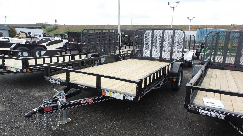 2017 PJ Trailers 14X83 CHANNEL UTILITY TRAILER