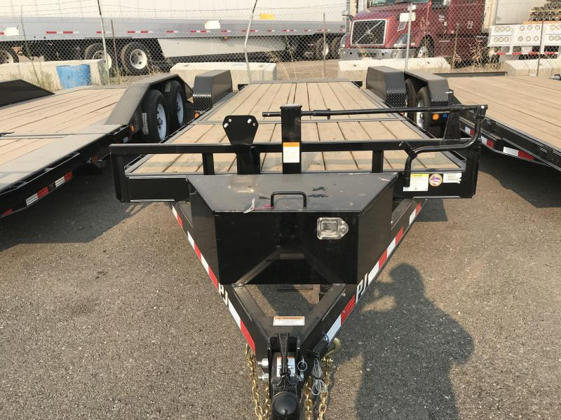 2019 PJ Trailers 22X6 Channel Equipment Tilt