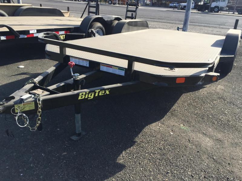 2016 Big Tex Trailers EX Flatbed Trailer
