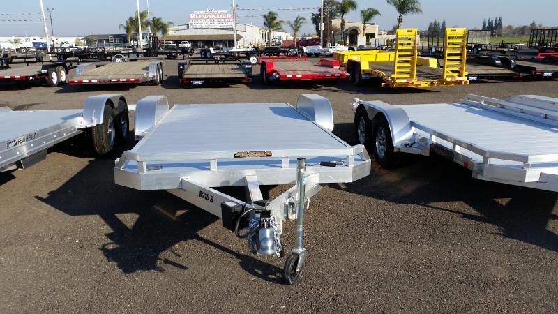 2014 Aluma 8218B Car / Racing Trailer