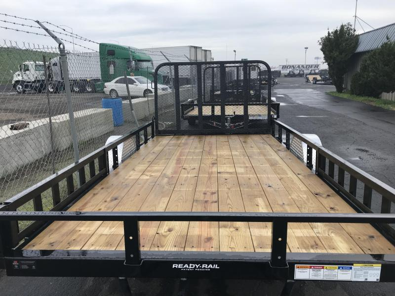2019 PJ Trailers 14X83 in. Channel Utility (U8) Dump Trailer