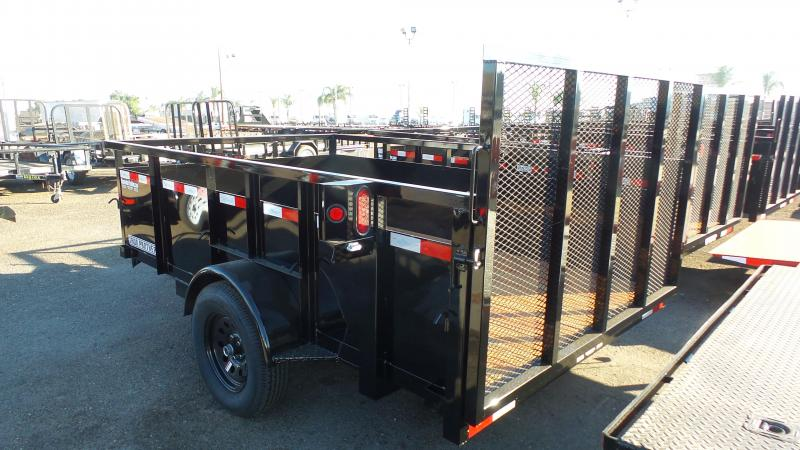 2019 Iron Panther 6.5X10 Utility Trailer