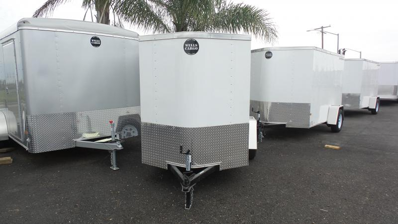 2017 Wells Cargo 5X8 Enclosed trailer