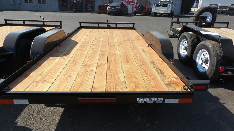 2018 Iron Panther 7X16 7K Econo Car Trailer