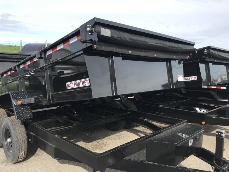 2019 Iron Panther 7X14X2 Dump Trailer