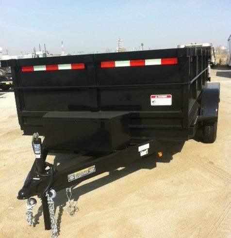 2014 Iron Panther DT212 - 6X12 Dump Trailer