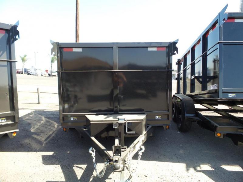 2018 Iron Panther 6X10X4 Dump Trailer
