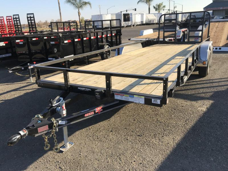 "2018 PJ Trailers 22X83"" Tandem Axle Channel Utility"
