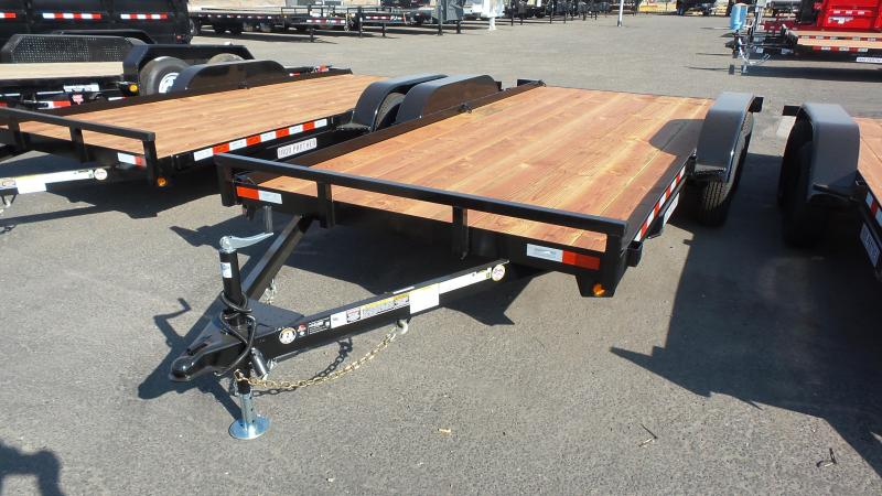 2018 Iron Panther 7X16 7K Econo Car Hauler Trailer