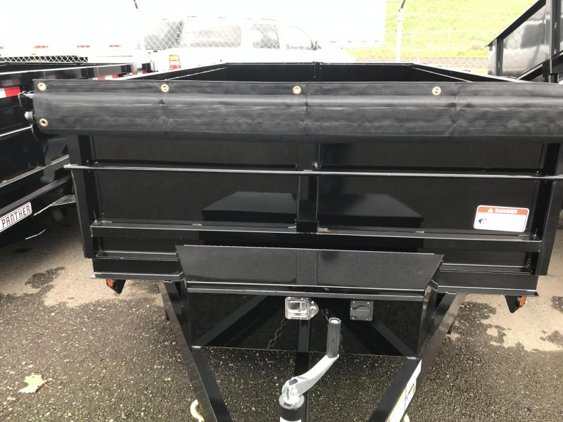 2019 Iron Panther 6X10X2 Dump Trailer