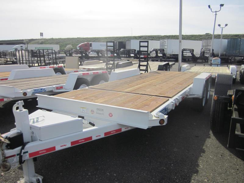 2017 Trailer Max T-12-UT Flatbed Trailer