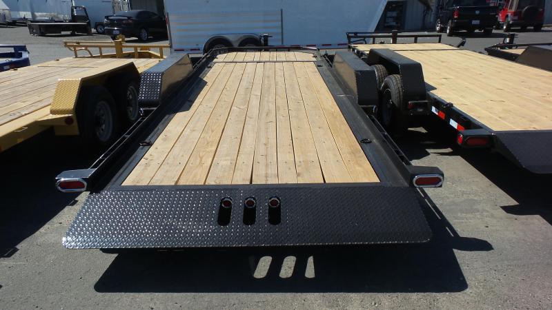 2018 Load Trail Tilt-n-Go Tandem Axle Low Pro Deck Trailer