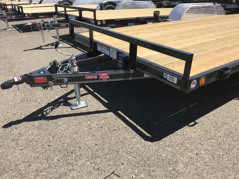 2019 PJ Trailers 18X4 Channel Carhauler