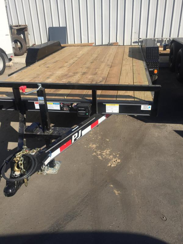 2017 PJ Trailers Car Trailer 16x5