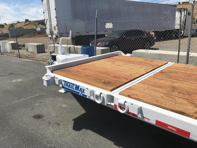 2018 TrailMax T-16-UT Flatbed Trailer