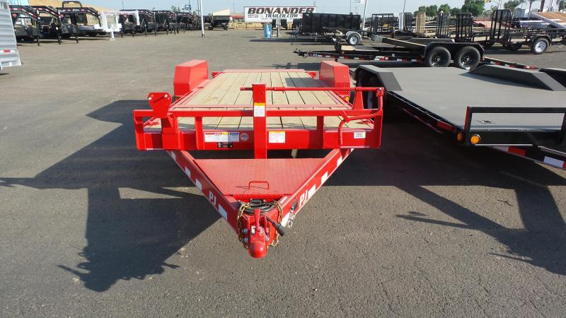 2018 PJ Trailers 20x6 Channel Equipment Tilt