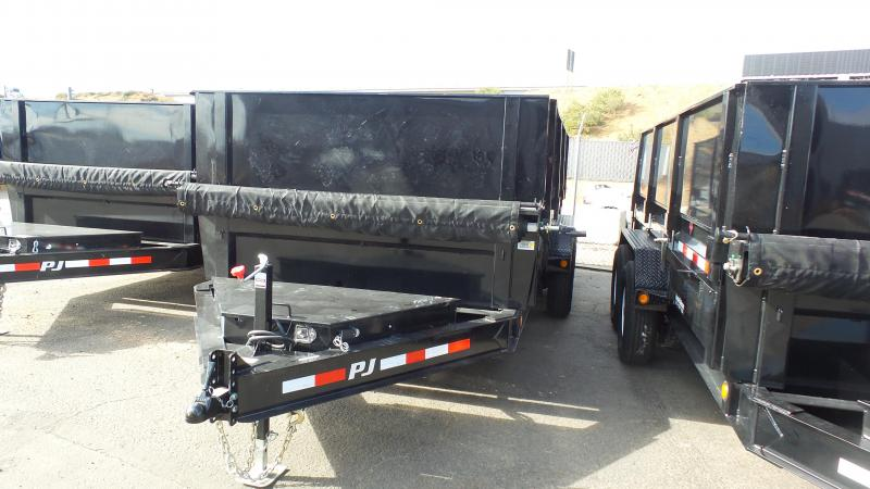 "2018 PJ Trailers 16X83"" Low Pro XL Dump"