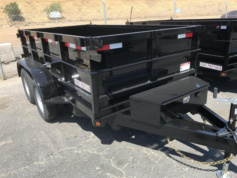 2018 Iron Panther 5X10X2 Dump Trailer