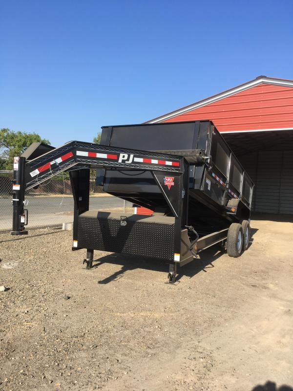 2018 PJ Trailers 83 in. Low Pro XL Dump (DJ) Trailer