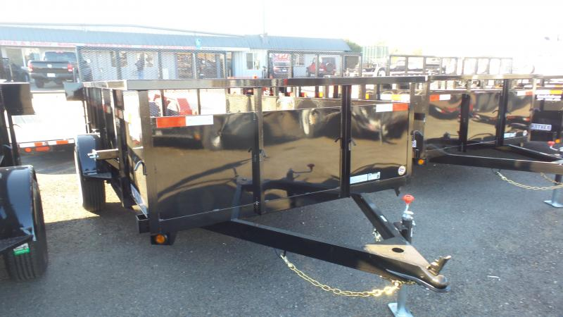 2018 Iron Panther 6.5X10 CL Landscape Trailer