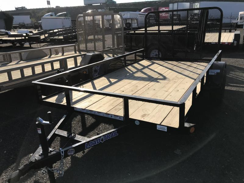 2018 Load Trail 77X12 Single Axle Trailer