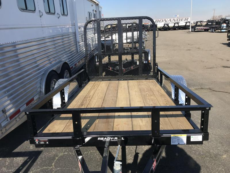 2019 PJ Trailers 8X60 Single Axle Channel Utility (U6) Utility Trailer
