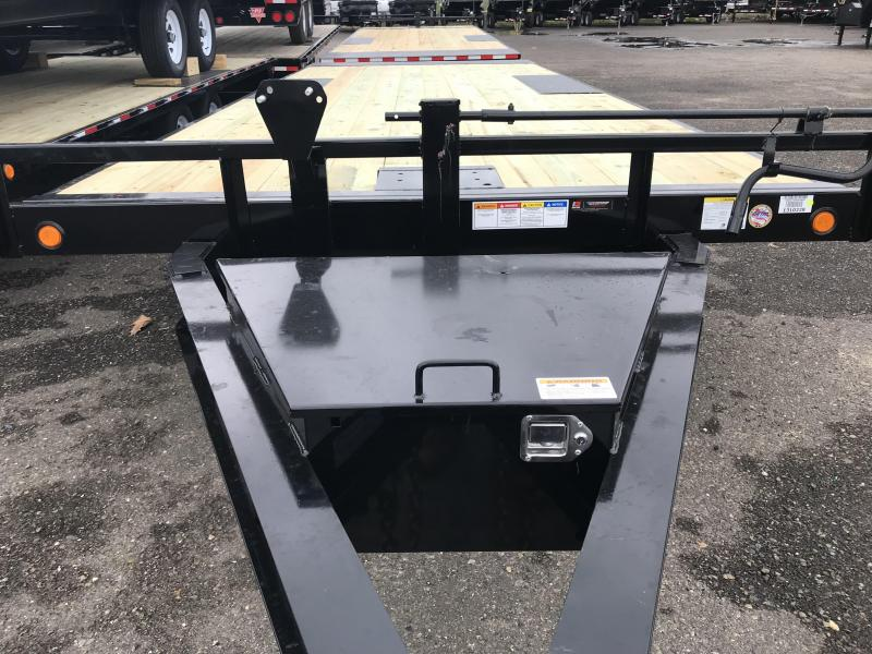 2019 PJ Trailers Deckover Tilt (T8) Car / Racing Trailer