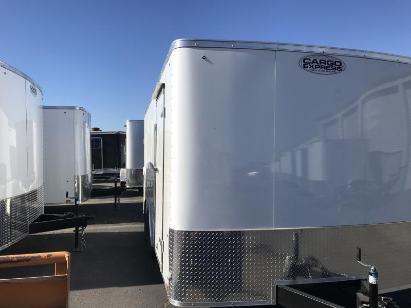 2019 Cargo Express 8.5X16 Enclosed Cargo Trailer