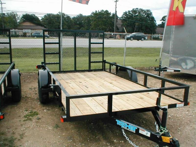 2016 Top Hat Trailers 6.5X12DSA Utility Trailer