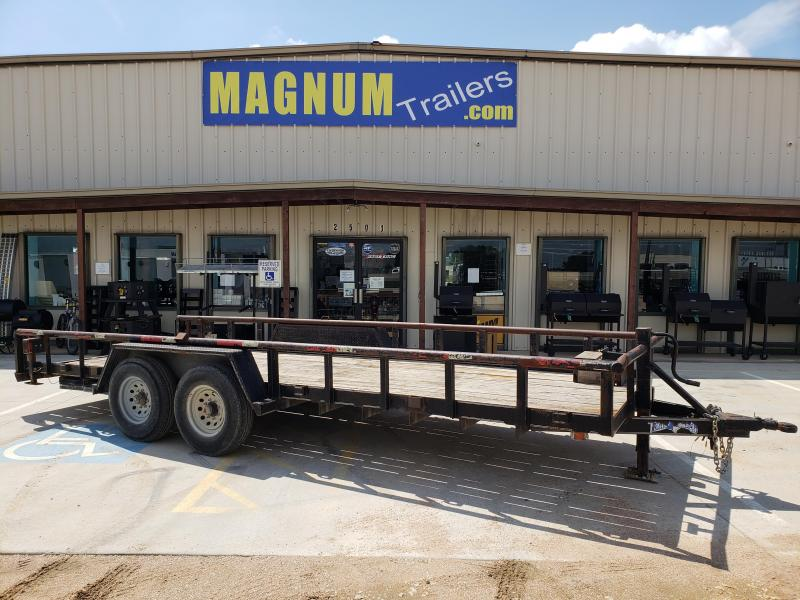 2008 Texas Bragg Trailers 20X83 12k Equipment Trailer
