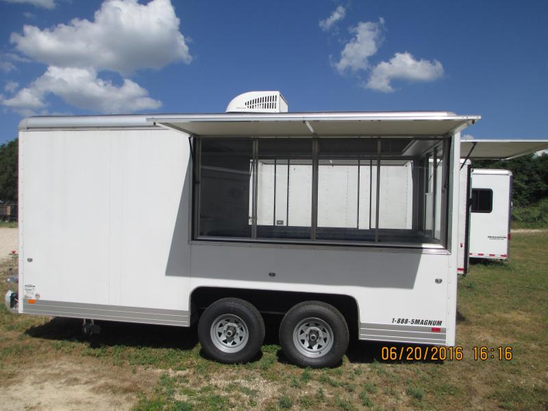2015 Wells Cargo CEW162 Vending / Concession Trailer