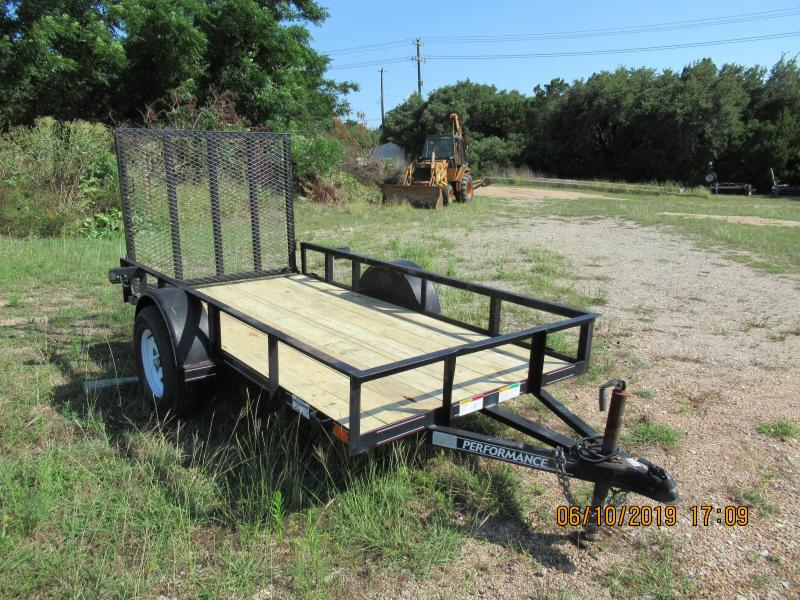 2009 Performance Trailers SA101 Utility Trailer