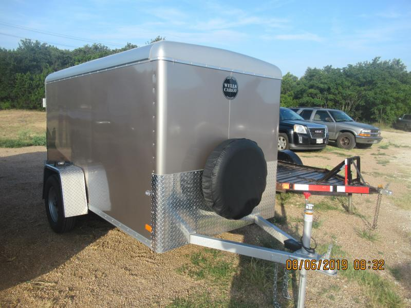 2014 Wells Cargo SW10 Enclosed Cargo Trailer