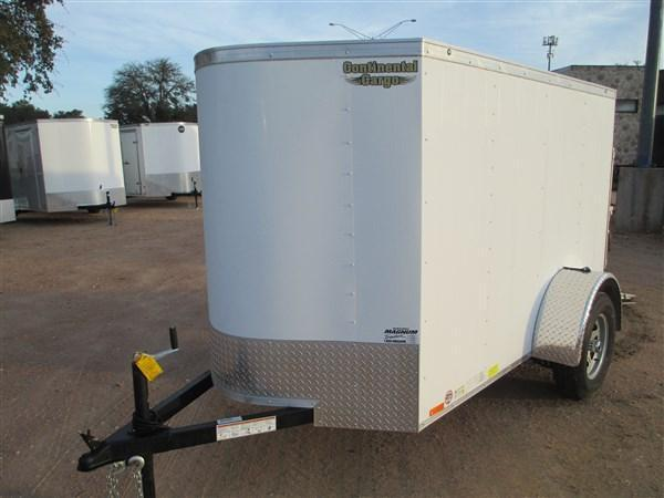 2017 Continental Cargo LVVH58SA Cargo / Enclosed Trailer