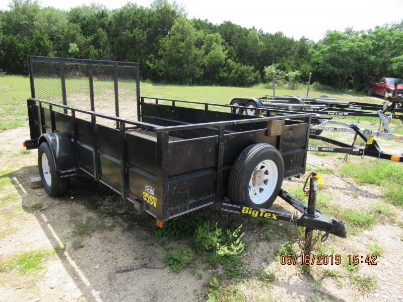 2002 Big Tex Trailers 35SV-12 Utility Trailer