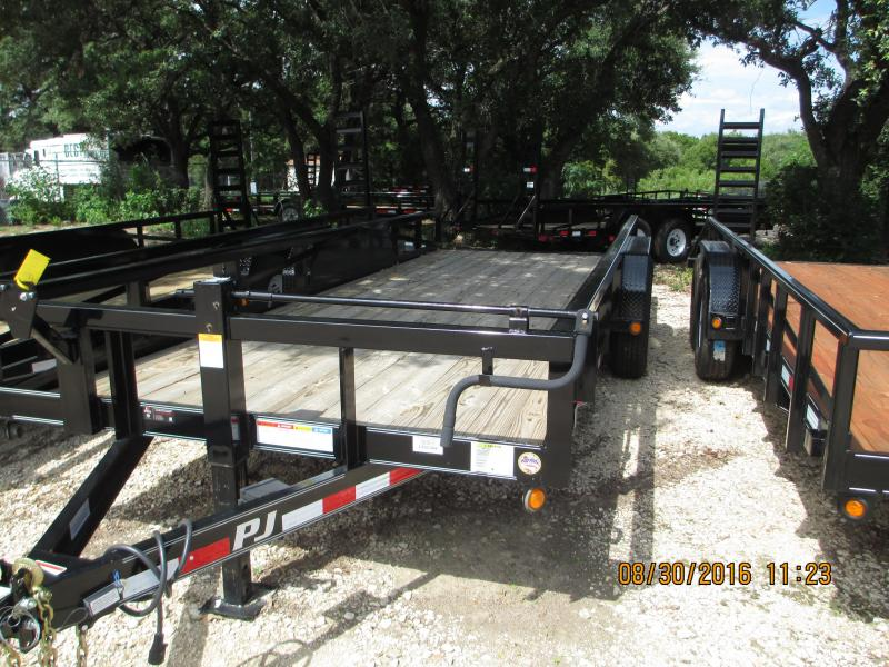 PJ Trailers P8202 Equipment Trailers